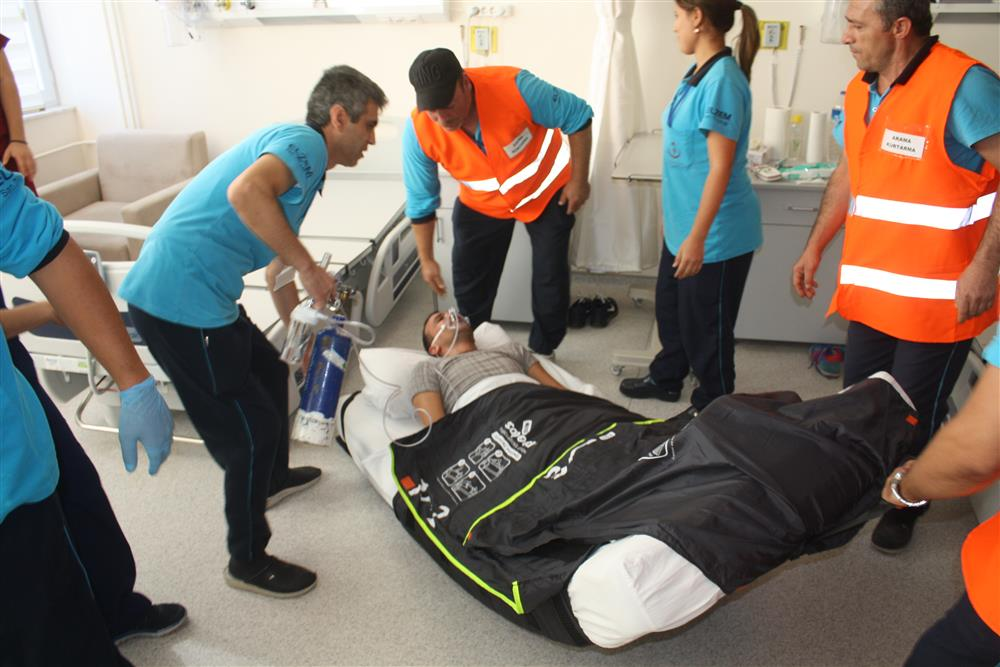 Evacuatiedoek ingezet bij Turks ziekenhuis