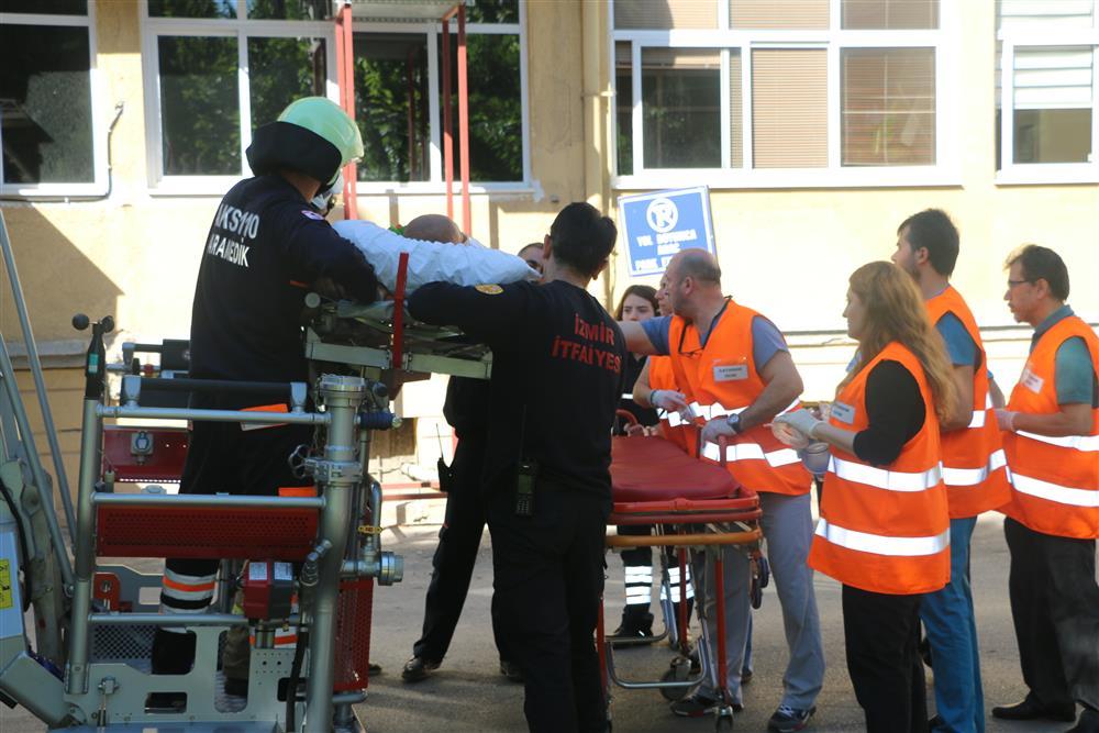 Evacuatie in Izmir